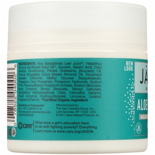 Jason Soothing Aloe Vera Moisturizing Creme Perspective: left