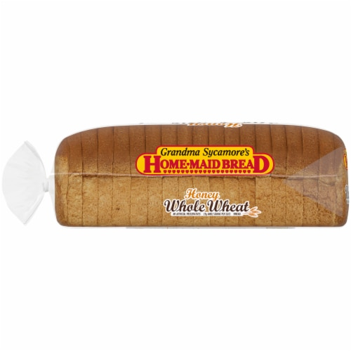 Grandma Sycamore's Home-Maid Honey Whole Wheat Bread Perspective: left