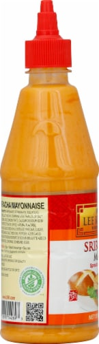 Lee Kum Kee Sriracha Mayo Sauce Perspective: left