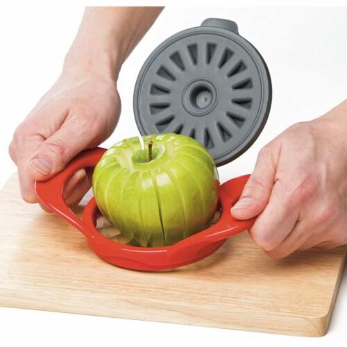 PrepWorks by Progressive Dishwasher Safe 16-Slice Thin Apple Slicer and Corer Perspective: left