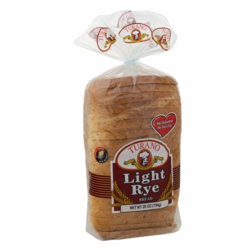 Turano Light Rye Bread Perspective: left