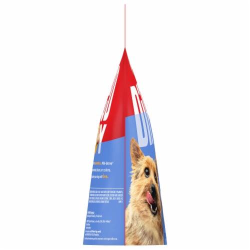 Milk-Bone Dipped Peanut Butter Dog Biscuit Snacks Perspective: left