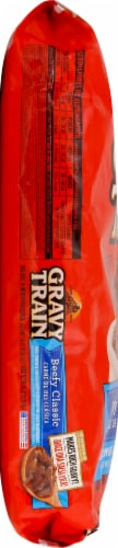 Gravy Train Beefy Classic Flavor Dry Dog Food Perspective: left