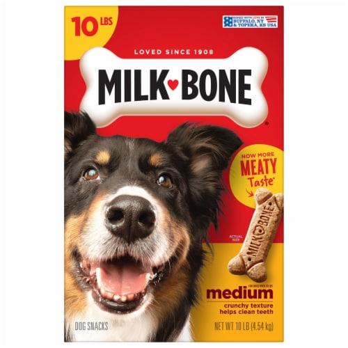 Milk-Bone Original Medium Dog Biscuits Perspective: left