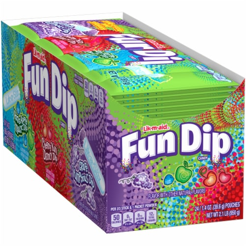 Fun Dip Candy 24 Count Perspective: left