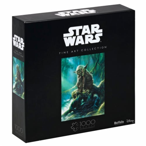 Buffalo Games Star Wars Fine Art Collection Yoda Puzzle Perspective: left