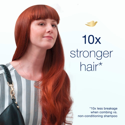 Dove Nutritive Solutions Daily Moisture Shampoo Perspective: left