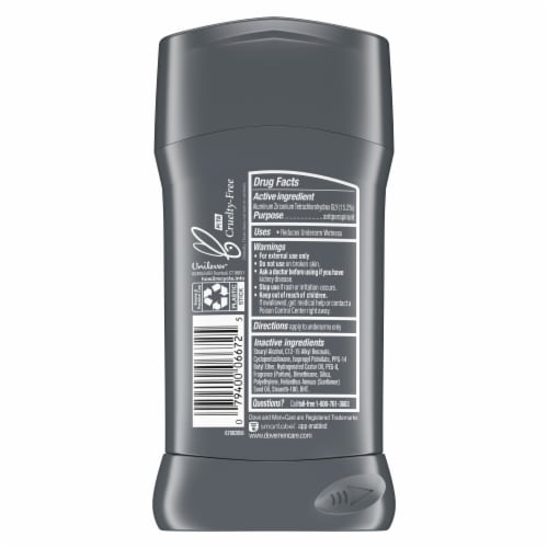 Dove Men+Care Extra Fresh Antiperspirant Stick Perspective: left