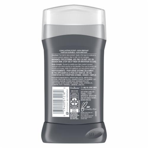 Dove Men+Care Aluminum-Free 48-Hour Protection Clean Comfort Deodorant Stick Perspective: left