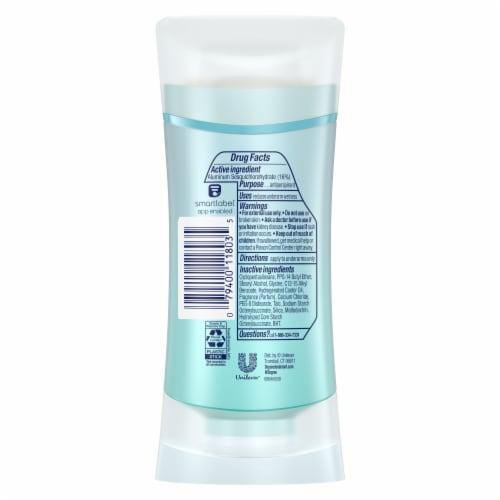 Degree® MotionSense Fresh Energy Antiperspirant Deodorant Stick Perspective: left
