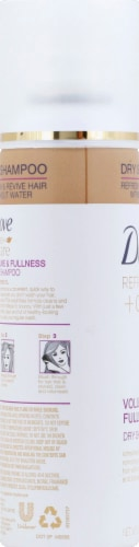 Dove Refresh + Care Volume & Fullness Dry Shampoo Perspective: left
