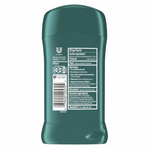 Degree Men Cool Comfort Antiperspirant & Deodorant Stick Perspective: left