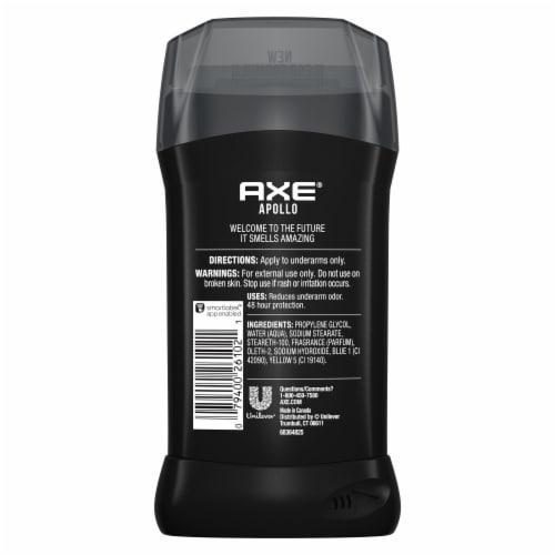 Axe Apollo Deodorant Stick Perspective: left