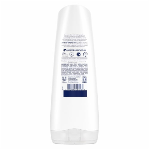 Dove Nourishing Rituals Fortifying Ritual Conditioner Perspective: left