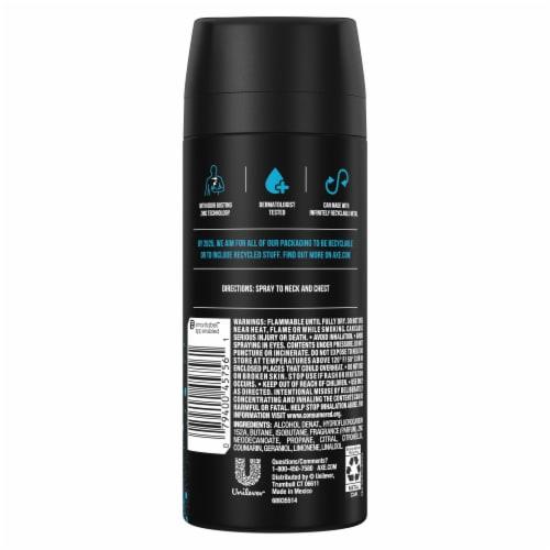 Axe Ice Chill Deodorant Body Spray Perspective: left