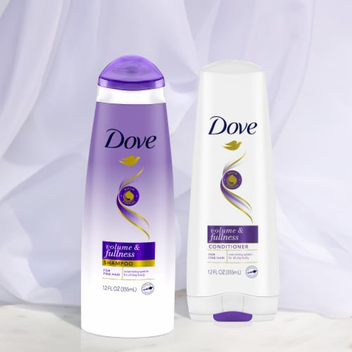 Dove Volume & Fullness Shampoo Perspective: left