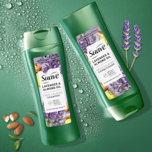Suave® Lavender & Almond Oil Moisturizing Conditioner Perspective: left