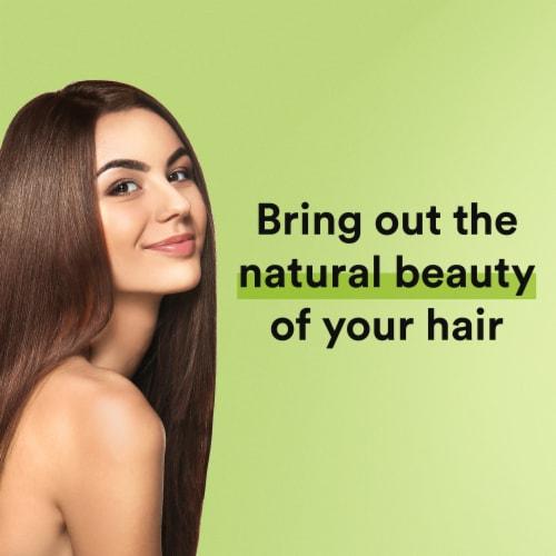 Suave Essentials Juicy Green Apple Revitalizing Shampoo Perspective: left