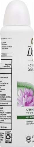 Dove Nourishing Secrets Waterlily & Sakura Blossom Antiperspirant Deodorant Perspective: left