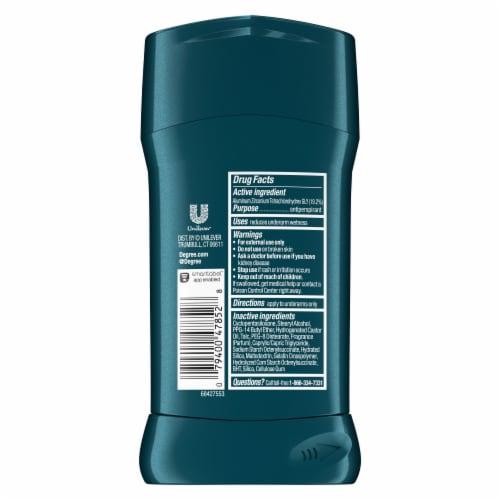 Degree Men Mint & Coconut Antiperspirant Deodorant Perspective: left