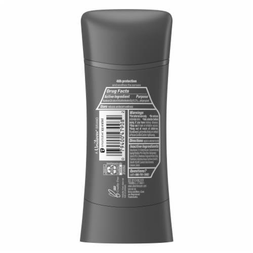 Dove Men+Care Sandalwood + Orange Antiperspirant Deodorant Stick Perspective: left