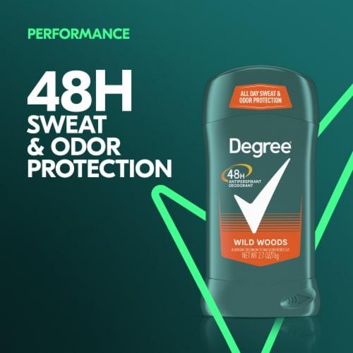 Degree Men Wild Woods Antiperspirant and Deodorant Stick Perspective: left