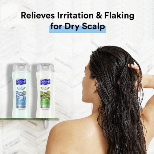Suave Scalp Control Anti-Dandruff 2-in-1 Shampoo & Conditioner Perspective: left