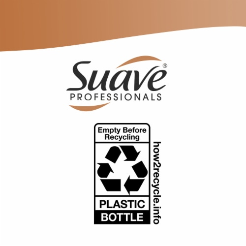 Suave® Ultra Sleek & Smooth Frizz Control Shampoo & Conditioner Perspective: left