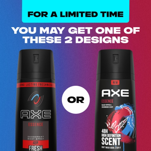 Axe Essence All-Day Fresh Deodorant Body Spray Perspective: left