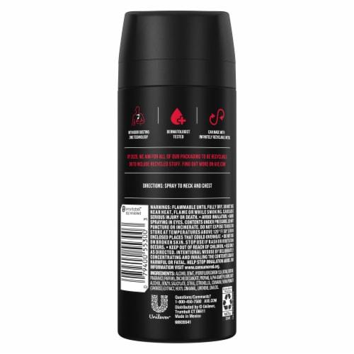 AXE Men Aluminum-Free Essence Black Pepper & Cedarwood Dual Action Deodorant Body Spray Perspective: left