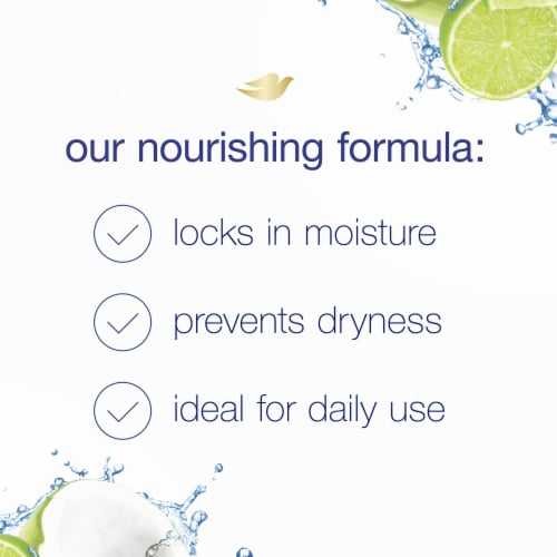 Dove Nourishing Secrets Coconut & Hydration Shampoo for Dry Hair Perspective: left