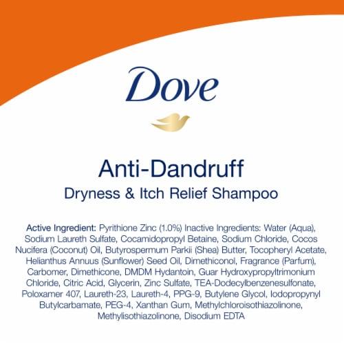 Dove Dermacare Scalp Anti-Dandruff Shampoo Perspective: left