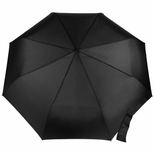 Totes Compact Auto Open Close Canopy Umbrella Perspective: left