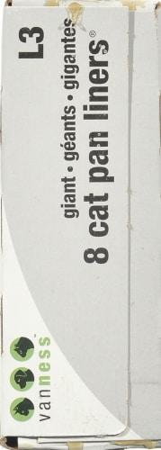 Van Ness Giant Cat Pan Liners Perspective: left