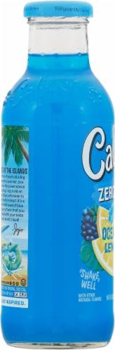 Calypso Light Ocean Blue Lemonade Perspective: left