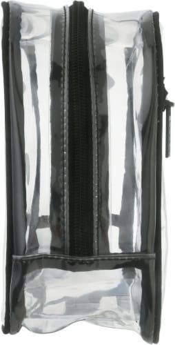 Modella Basics Large PVC Organizer Cosmetics Bag Perspective: left