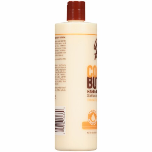 Queen Helene Cocoa Butter Hand and Body Lotion Perspective: left