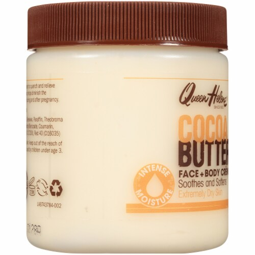 Queen Helene Cocoa Butter Face & Body Creme Perspective: left
