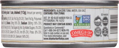 Blue Harbor® Wild Albacore Solid White Tuna in Water Perspective: left