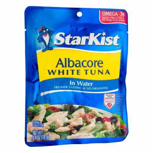 StarKist Albacore White Tuna in Water Perspective: left