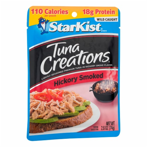 StarKist Tuna Creations Hickory Smoked Seasoned Tuna Perspective: left