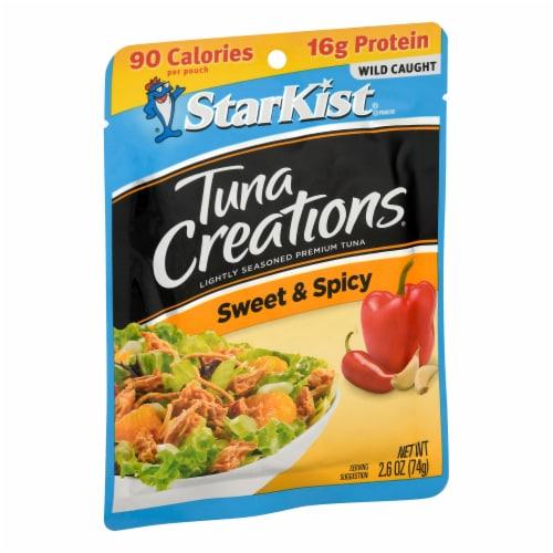 StarKist Tuna Creations Sweet & Spicy Seasoned Tuna Perspective: left