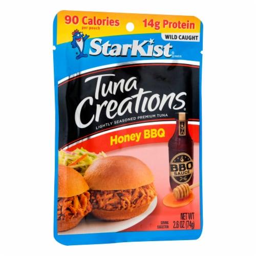 StarKist Tuna Creations Honey BBQ Seasoned Tuna Perspective: left
