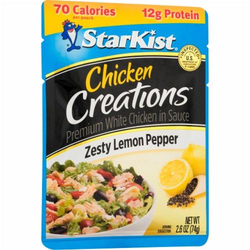 StarKist Chicken Creations Zesty Lemon Pepper Chicken in Sauce Perspective: left