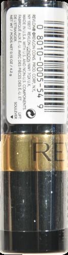 Revlon Super Lustrous Softsilver Red Pearl Lipstick Perspective: left