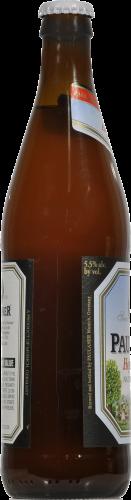 Paulaner Hefe-Weizen Beer Perspective: left