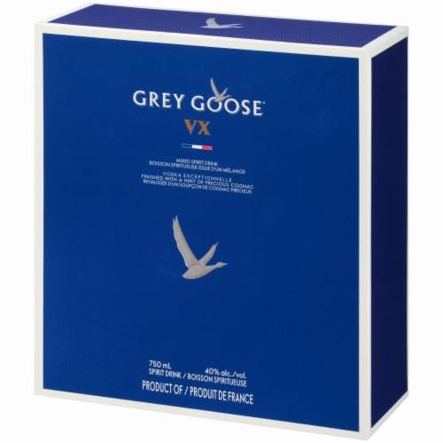 Grey Goose V X Vodka Perspective: left
