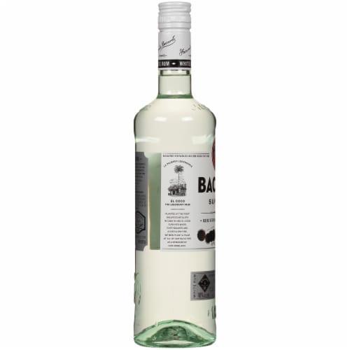Bacardi Superior Puerto Rican White Rum Perspective: left