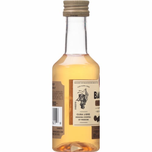 Bacardi Gold Rum Perspective: left
