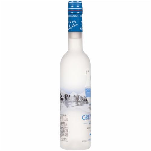 Grey Goose Vodka Perspective: left